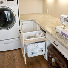 Traditional Laundry Room by Frenchs Cabinet Gallery llc