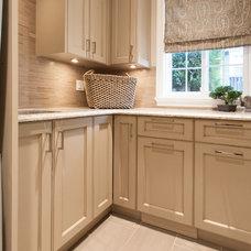 Traditional Laundry Room by Kenorah Design + Build Ltd.