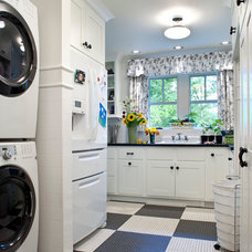Traditional Laundry Room by Tyner Construction Co Inc