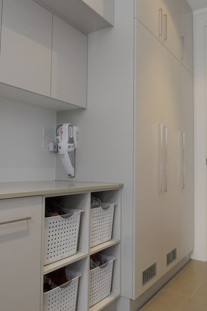 Contemporary Laundry Room by VMDesign