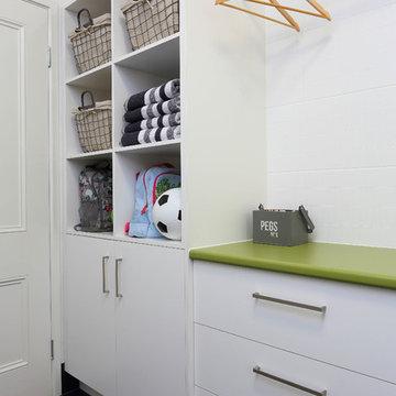 Family Laundry storage