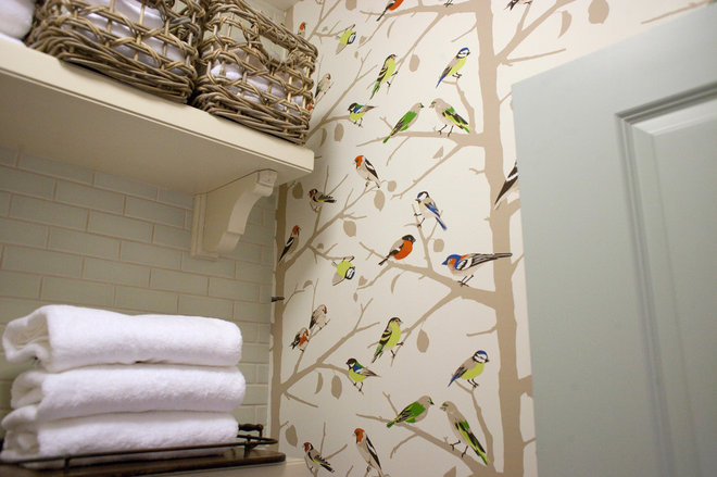 Traditional Laundry Room by Harman Wilde