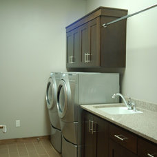 Modern Laundry Room by Dietrich Homes