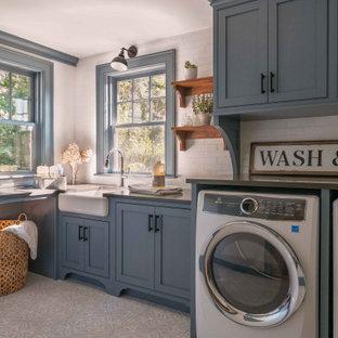 Foto di una lavanderia country