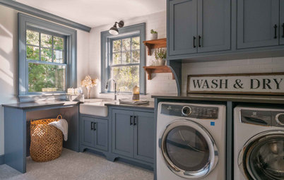 New This Week: 6 Fresh and Stylish Laundry Rooms