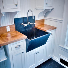 Traditional Laundry Room by Gulfshore Design