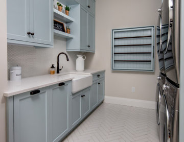 Feature-Filled Farmhouse Laundry
