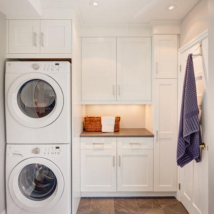 Contemporary Laundry Room by Davisville Kitchens