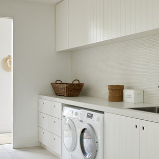 Photo of a scandinavian laundry room in Melbourne.