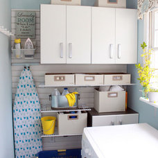 Contemporary Laundry Room by Flow Wall System