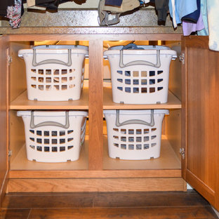 Источник вдохновения для домашнего уюта: прачечная в стиле кантри