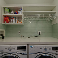 Contemporary Laundry Room by Rye Marble Inc