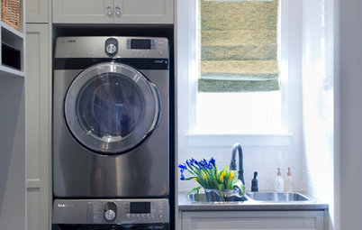 6 Ways to Squeeze a Sink Into a Laundry Space