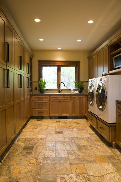 Craftsman Laundry Room by Shane D. Inman