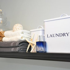 Traditional Laundry Room by Design J