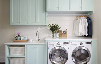 6 Fantastic Laundry Rooms