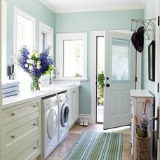 Traditional Laundry Room fresh laundry