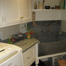 Traditional Laundry Room by Donelan Contracting