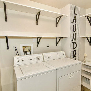 Functional Storage Laundry Room, Bucks County PA