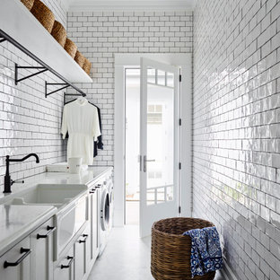 Photo of a traditional laundry room in Sydney.