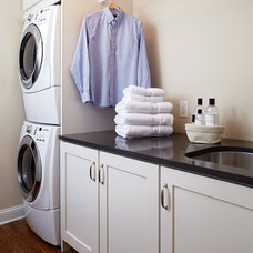 Traditional Laundry Room by J Thom Kitchen Cabinetry