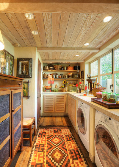 Farmhouse Laundry Room by Dave Adams Photography