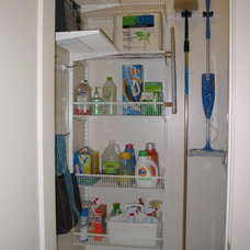 Contemporary Laundry Room by All Things Home Organizing™ by Gayle Grace
