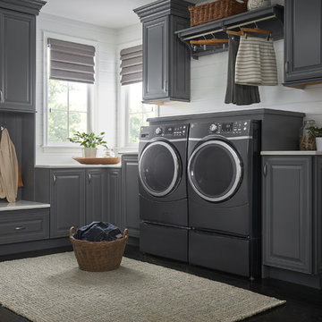 GE Front-Load Washer and Dryer