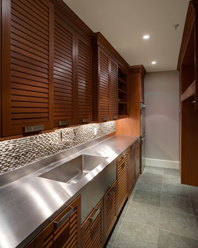 Contemporary Utility Room by Georgetown Development