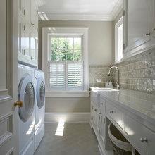 Laundry, Pantry, Kitchen