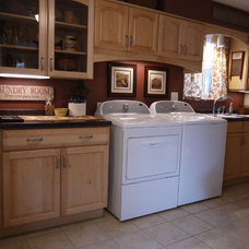 Traditional Laundry Room by Melissa Spirk Of Lowe's of Tarentum