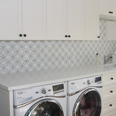 Traditional Laundry Room by Da Vinci Marble