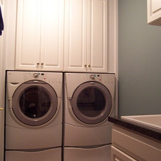 Traditional Laundry Room by George's Kitchens, Inc.