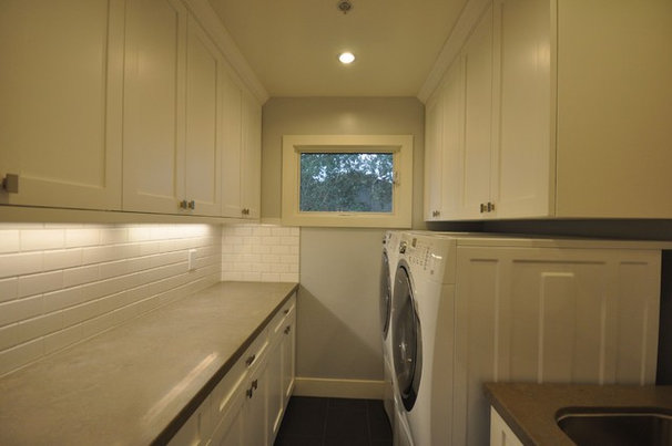 Contemporary Laundry Room by Globus Builder