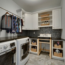 Traditional Laundry Room by Spacecrafting / Architectural Photography