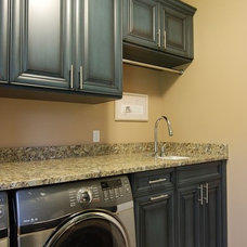 Traditional Laundry Room by Kitchens & Baths Unlimited