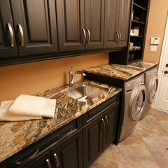 traditional laundry room by Progressive Countertop Systems