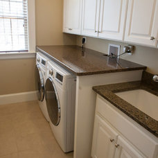 Traditional Laundry Room by Onyx Marble and Granite