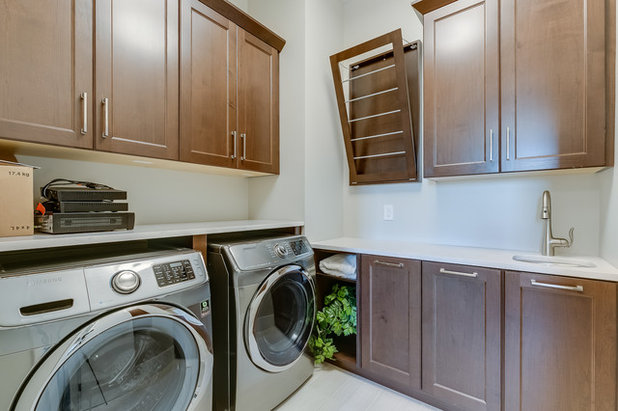 American Traditional Utility Room by D&S Homes