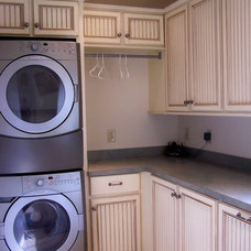 Traditional Laundry Room by KI Lumber & Building Materials,Inc