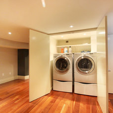 Modern Laundry Room by Hall Developments