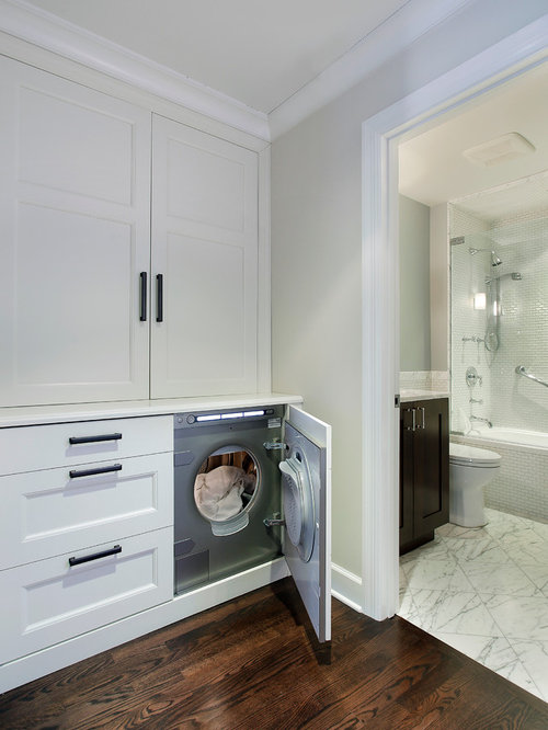 Hidden Washing Machine Houzz