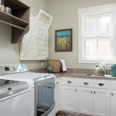 Farmhouse Laundry Room by Court Atkins Architects