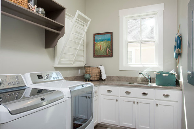 Country Laundry Room by Court Atkins Group