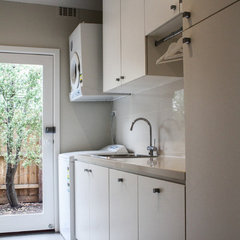 contemporary laundry room by eat.bathe.live
