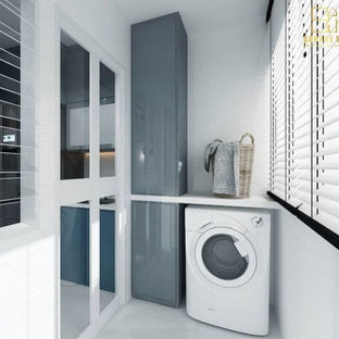 Design ideas for an asian laundry room in Bengaluru.