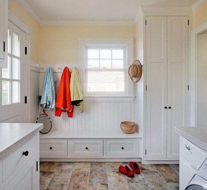 Traditional Laundry Room by LDa Architecture & Interiors