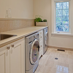 contemporary laundry room by Peter A. Sellar - Architectural Photographer