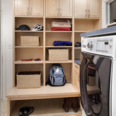 Traditional Laundry Room by CG&S Design-Build
