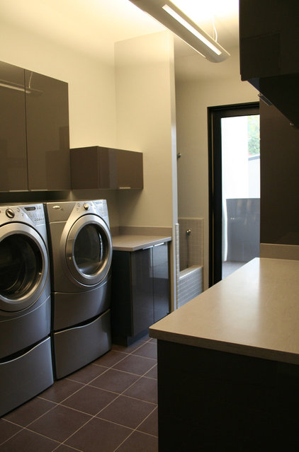 Modern Laundry Room by DeWitt Architects